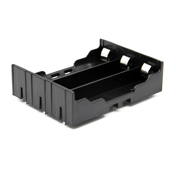 3pcs DIY 3-Slot 18650 Battery Holder With Pins 7