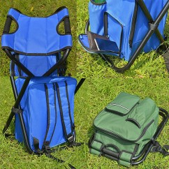 Fishing Chair Singapore Bath Tub For Baby 3 In 1 Outdoor Portable Multifunctional Foldable Cooler Bag Backpack Stool ...