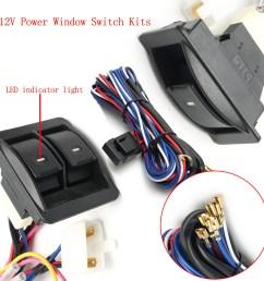 6pcs 12v universal power window switch kits with master power window switch wiring diagram for power window switches [ 1200 x 1200 Pixel ]