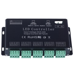 1 x led dmx512 controller 1 x english user manual connection diagram  [ 1000 x 1000 Pixel ]