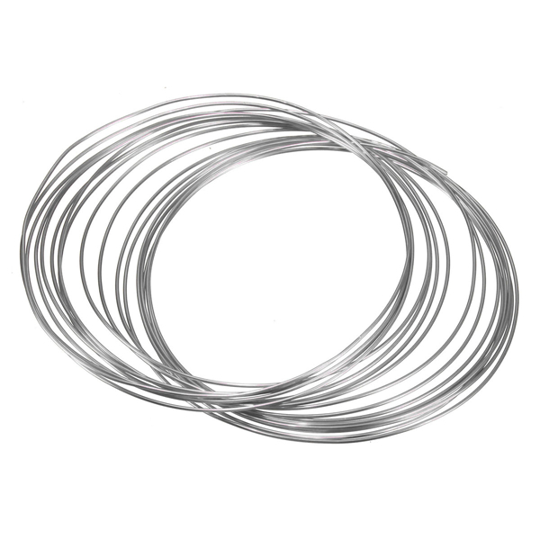 1.0mm Aluminum Wire Craft Art Oxidation Cable DIY Tools 5
