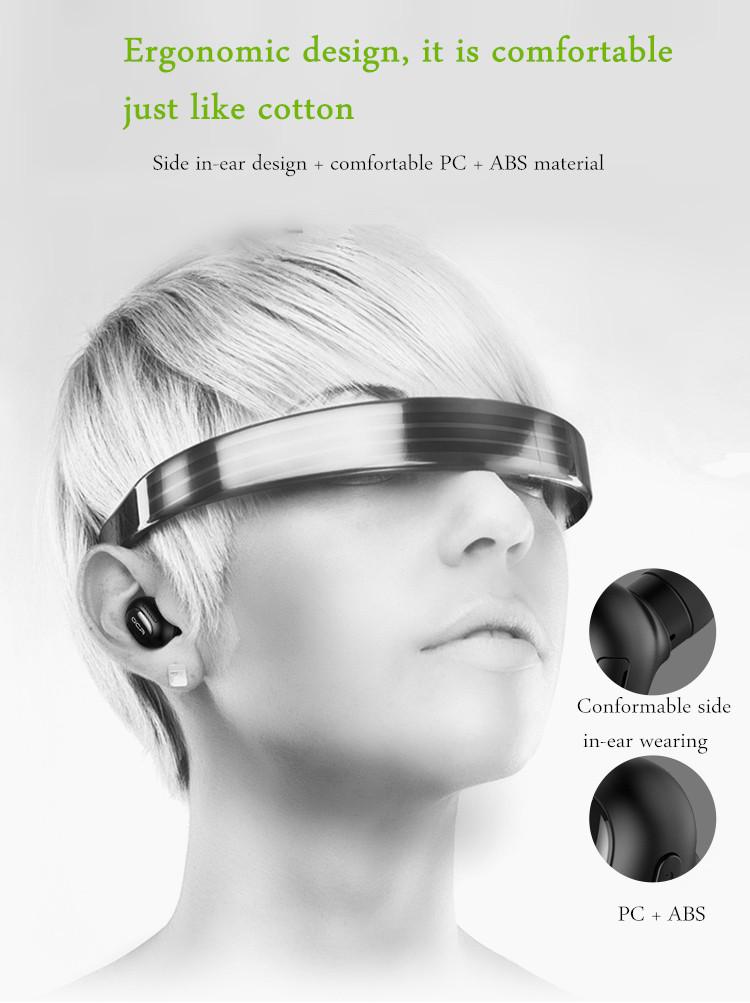 QCY Q26 Super Mini In-ear Universal Wireless Bluetooth 4.1 Headphone Earphone English Voice