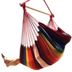 Indoor Hanging Chairs Canada Posture In Chair At The Computer Garden Patio Thicken Hammock Outdoor Cotton Swing Cushion Seat | Alexnld.com