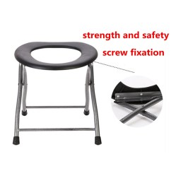 Stool Chair For Toilet Reclining And Ottoman Ipree Portable Folding Old Pregnant Women Sit