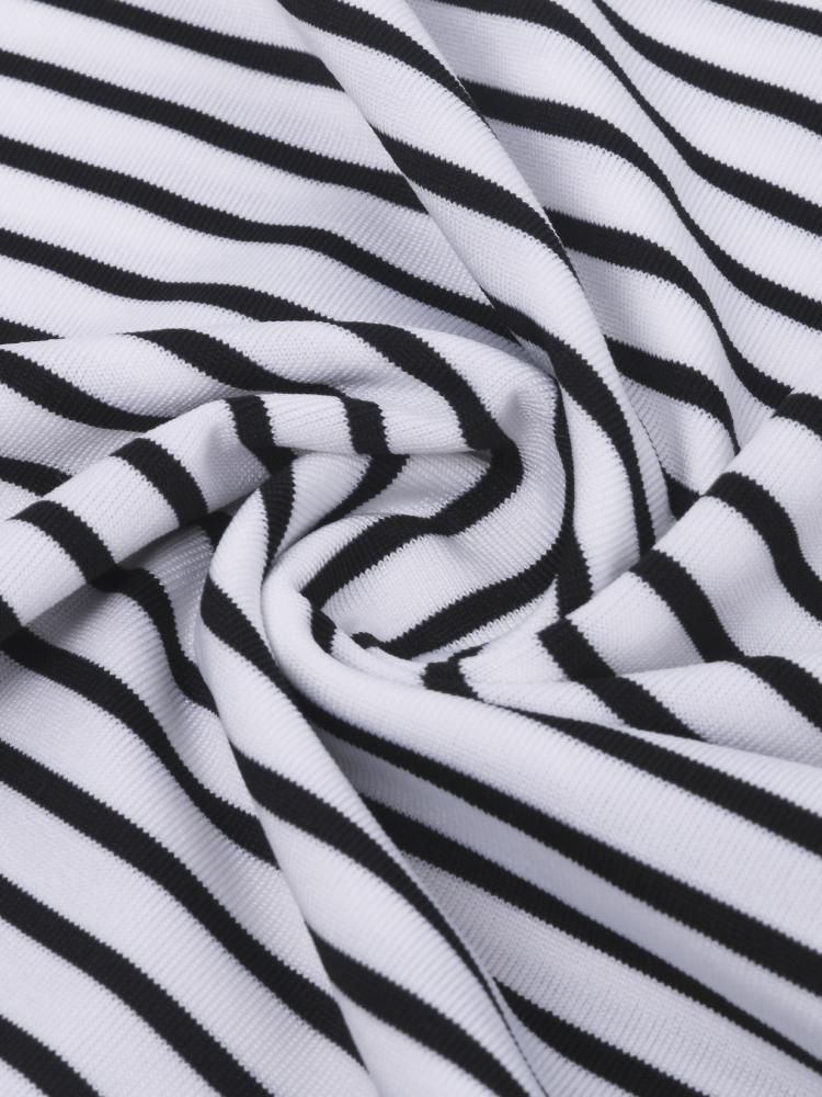 Casual Sleeveless Spaghetti Strap Striped Maxi Dress For Women