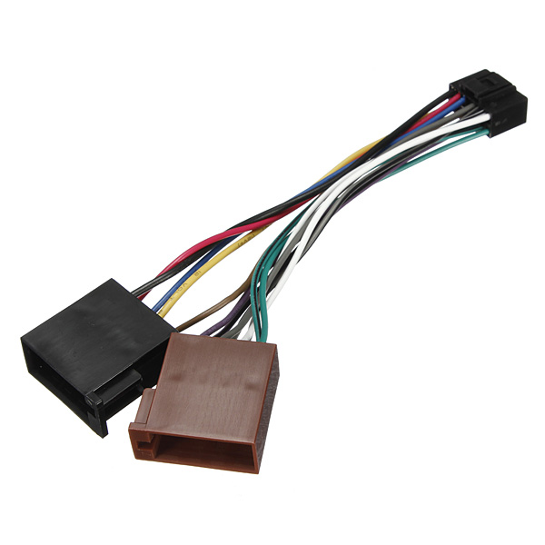 kenwood 16 pin wiring harness diagram 2000 jeep cherokee xj radio 16pin iso car stereo audio connector cable for - us$3.59 sold out
