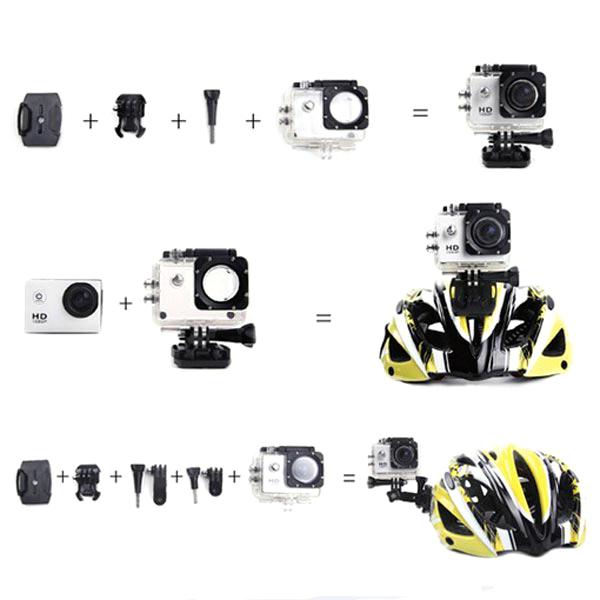 SJ4000 1.5 Inch HD Car DVR Camera+900mAh Li-ion Battery+