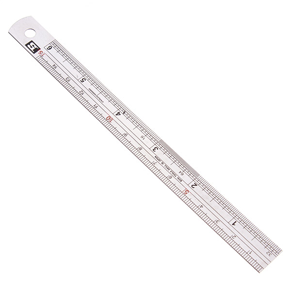 BOSI 15cm/30cm Steel Ruler BS170715/BS170730 Etched-on