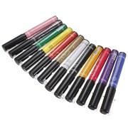 colors nail art drawing pen