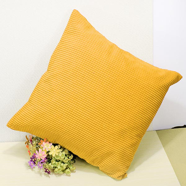 Corn Kernels Corduroy Sofa Decor Pillow Cases Zippered