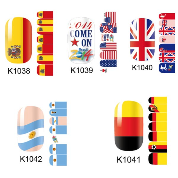 Diy In Home Whole Oem Odm Service Solid Nail Art World Stickers