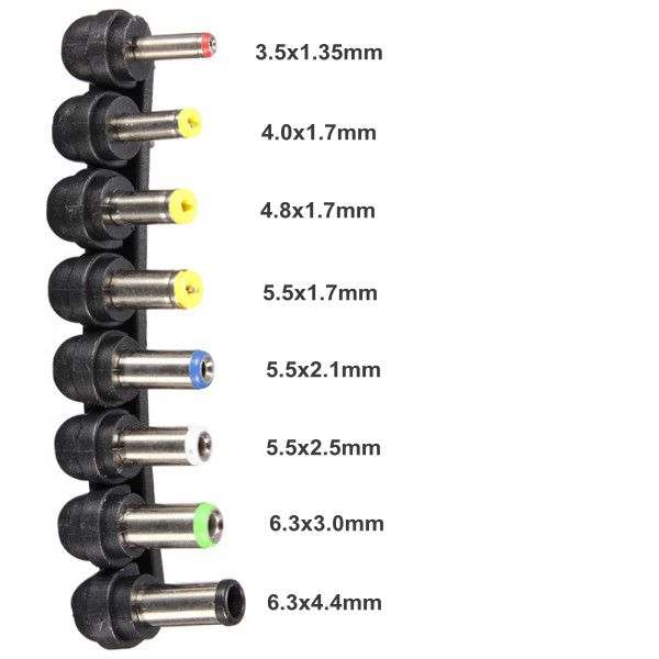 Power Supply: Power Supply Jack Sizes