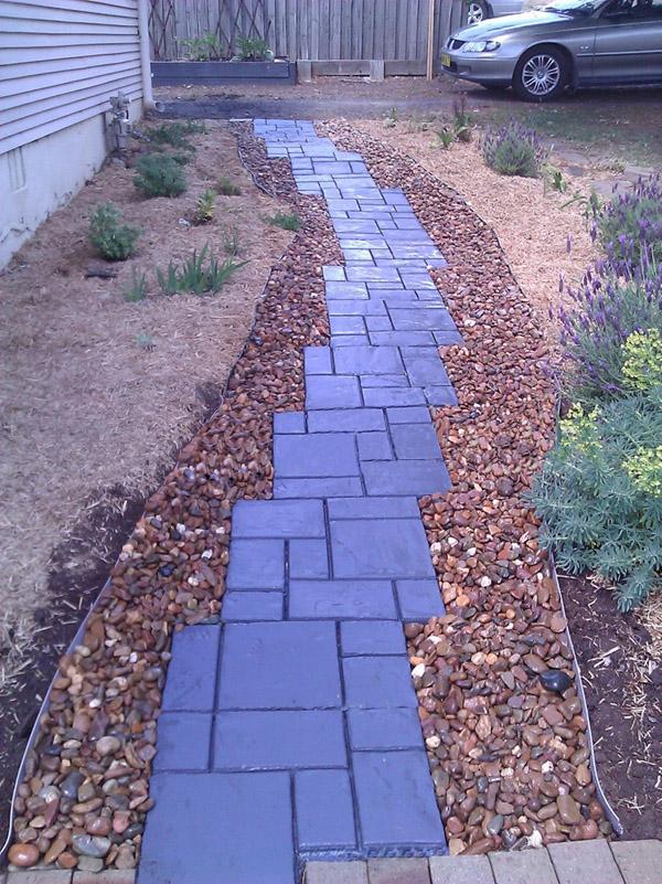 51cm Garden Diy Plastic Path Maker Model Road Paving