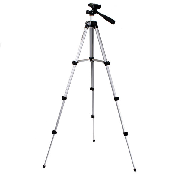WT3110A 40 Inch Aluminum Tripod Stand For Camera DSLR