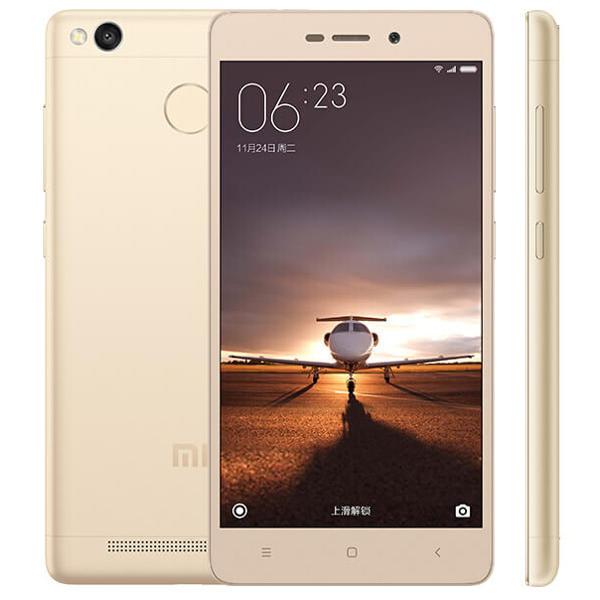 banggood Xiaomi Redmi 3S Snapdragon 430 MSM8937 1.4GHz 8コア GOLDEN(ゴールデン)