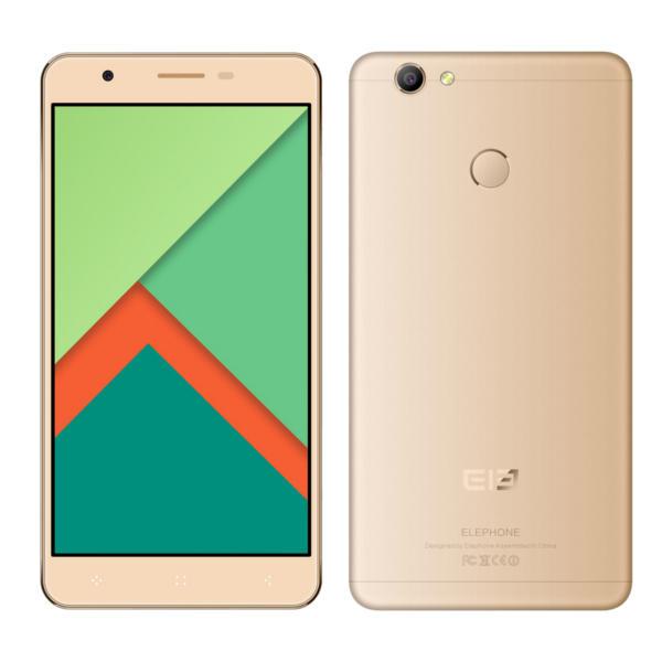 banggood Elephone C1X MTK6737 1.3GHz 4コア GOLDEN(ゴールデン)