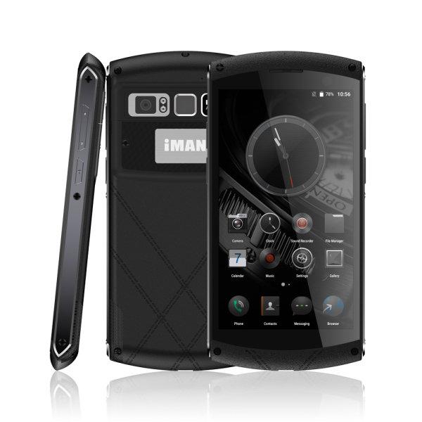 banggood IMAN Victor MTK6755 Helio P10 2.0GHz 8コア BLACK(ブラック)