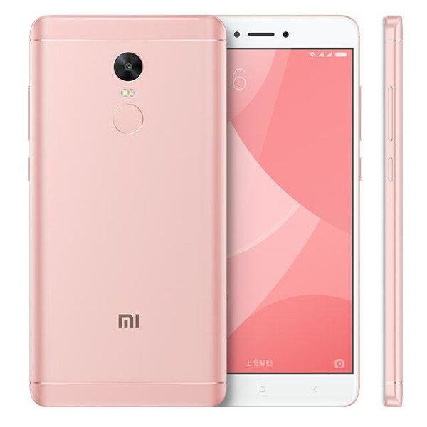 banggood Xiaomi Redmi Note 4X Snapdragon 625 MSM8953 2.0GHz 8コア,MediaTek Helio X20 2.3GHz Deca Core PINK(ピンク)
