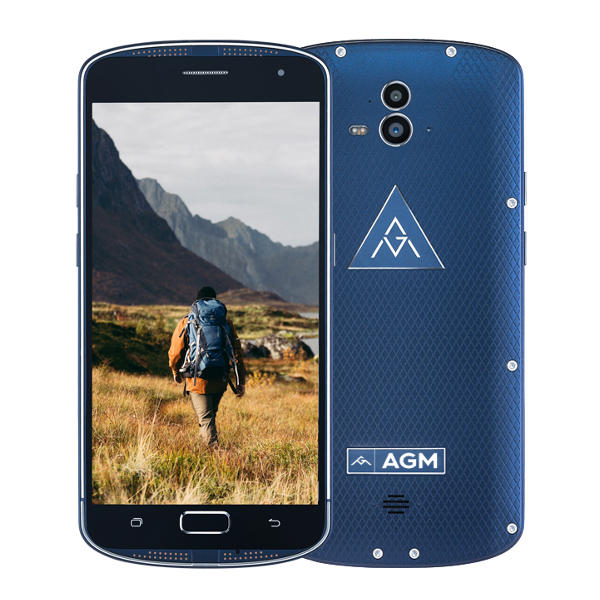 banggood AGM X1 Snapdragon 617 MSM8952 1.5GHz 8コア BLUE(ブルー)