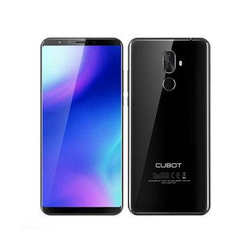 Cubot X18 Plus 5.99 Inch 18:9 Android 8.0 4GB RAM 64GB ROM MT6750T Octa Core 4000mAh 4G Smartphone