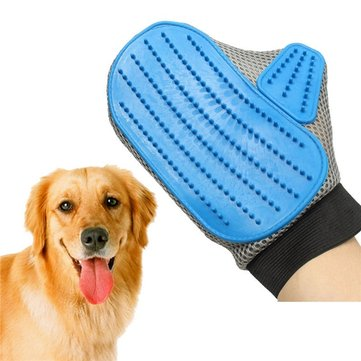 dog cat hair b cleaning brush b animal massage hair removal dog bath grooming glove at