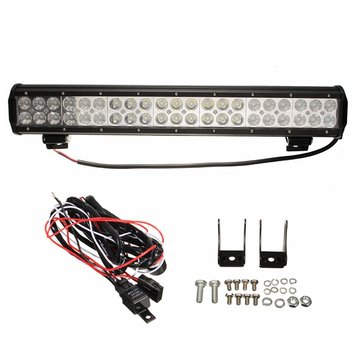 20inch 126W LED Working Driving Light Spot Flood Combo