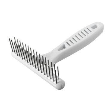 pet dog hair g grooming cat anti static hair brush massage hair removal b at banggood