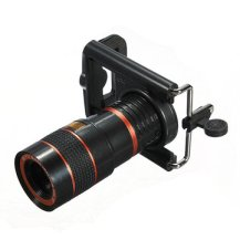 Universal 8X Long Focal Lens Telescope For iPhone Smartphone Device
