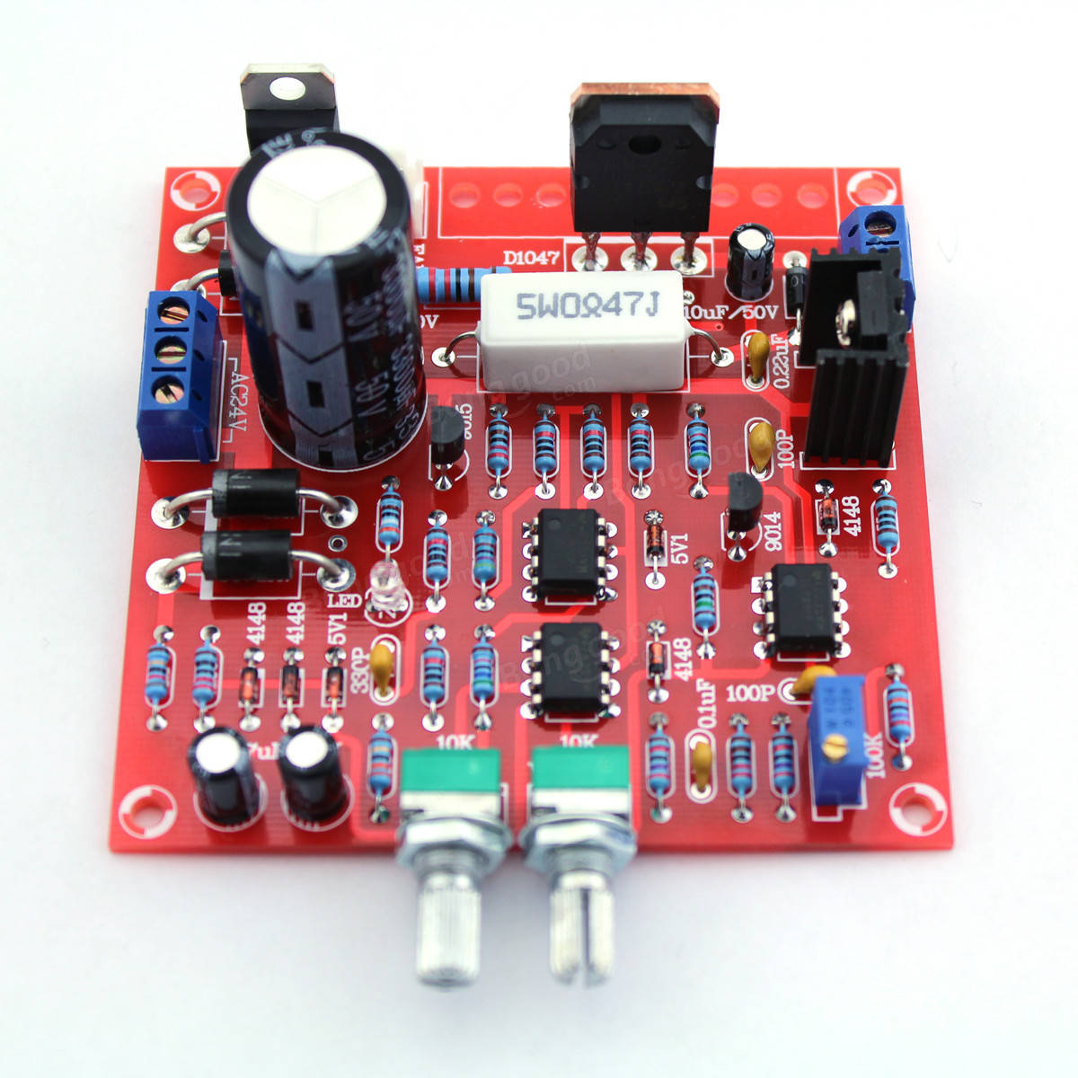 How To Build High Voltage Regulator With Short Circuit Protection