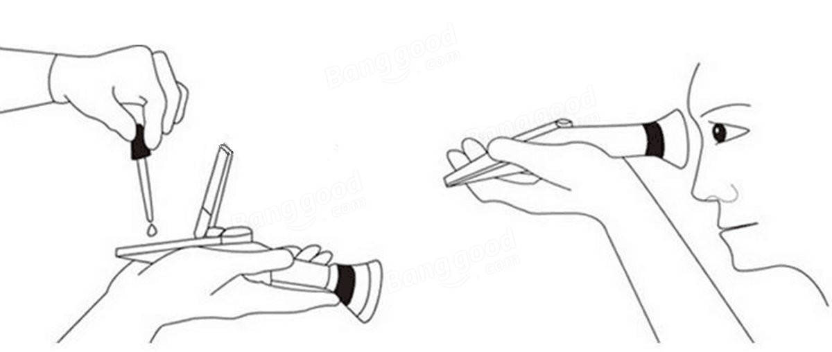 Alcohol Test Refractometer Handheld Sugar Measuring