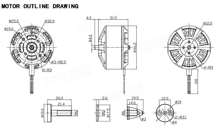 Racerstar Racing Edition 4114 BR4114 340KV 4-12S Brushless