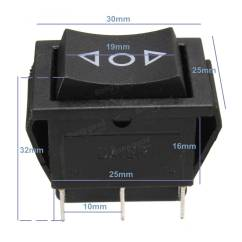5 Prong Relay Wiring Diagram 12 Volt Double Pole Throw Pickup Stratocaster 6 Pin Dpdt Power Window Momentary Rocker Switch Ac