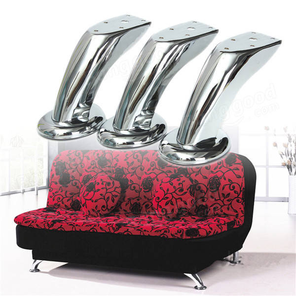 sofa legs replacement canada chaise bed chrome metal leg furniture chairs ...