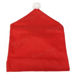 Santa Hat Chair Covers Australia Solid Wood High 67x51 Cm Babbo Natale La Sedia Di Cappello Rossa Coprono Decorazione Partito Tavolo Da ...