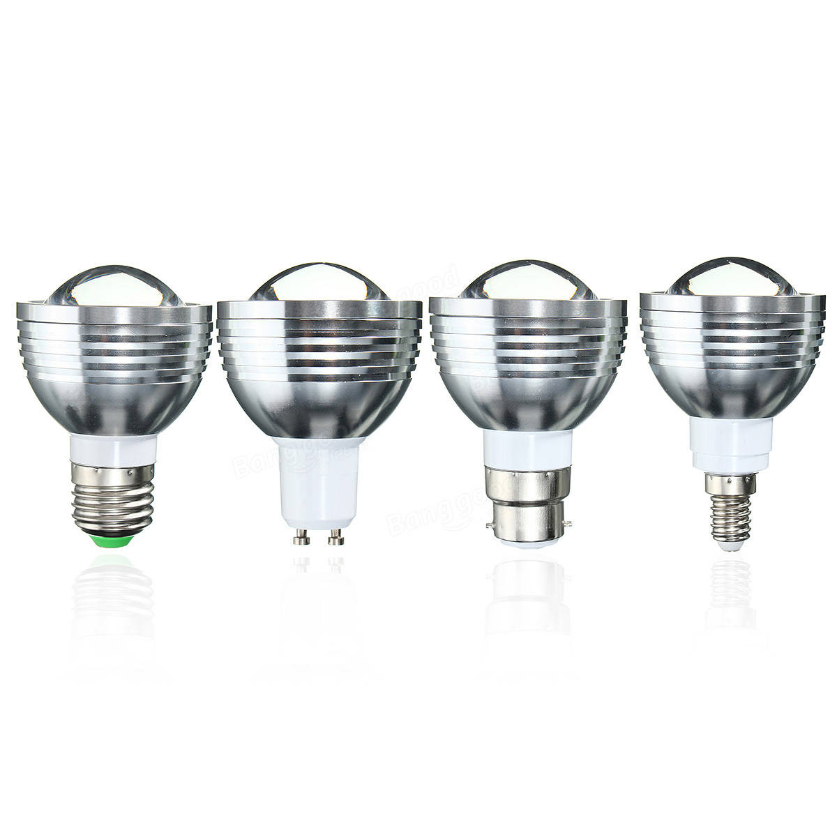 E27 B22 Gu10 E14 5w Dimmable Rgb Color Changing Led Spot