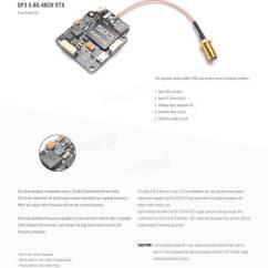 Fpv Racing Drone Wiring Diagram 4 Pole Relay Diatone Crusader Gt2 200 W F3 Sp3 48ch