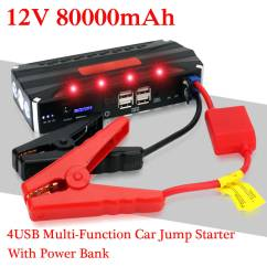 12v Starterbatterie F R Fiat Wm 1998 Ez Go Txt Wiring Diagram 80000mah Car Jump Starter Power Bank Rechargable