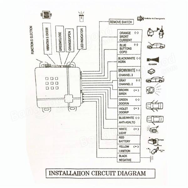 Repeller Car Alarm Wiring Diagram : 33 Wiring Diagram
