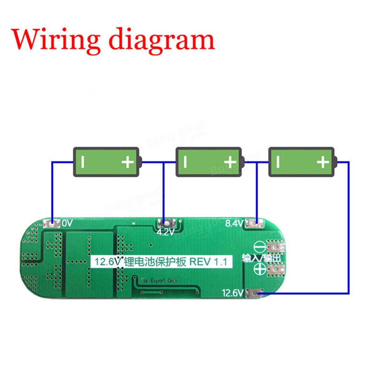 3s bms wiring diagram two outlet 10pcs 20a li ion lithium battery 18650 charger pcb