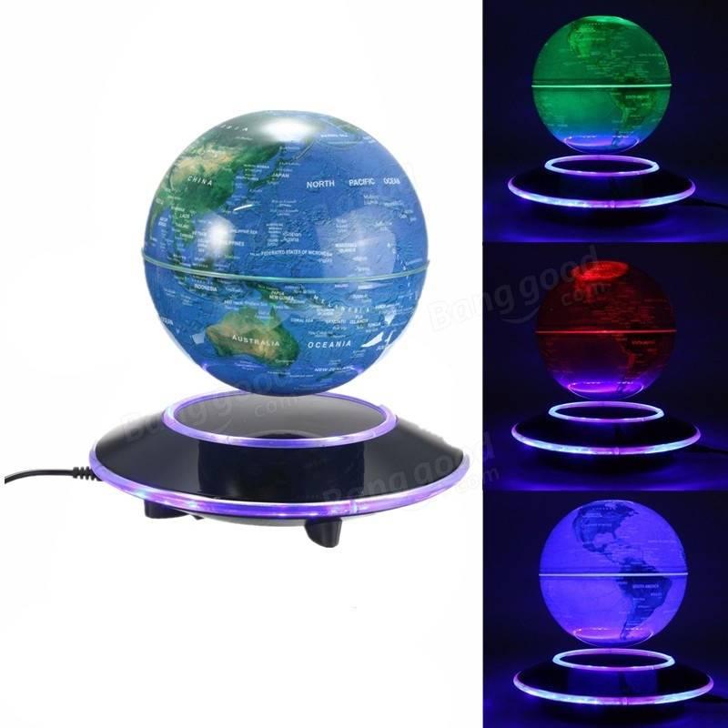 Magnetic Levitation Floating Globe 6 Inch Amazing Office