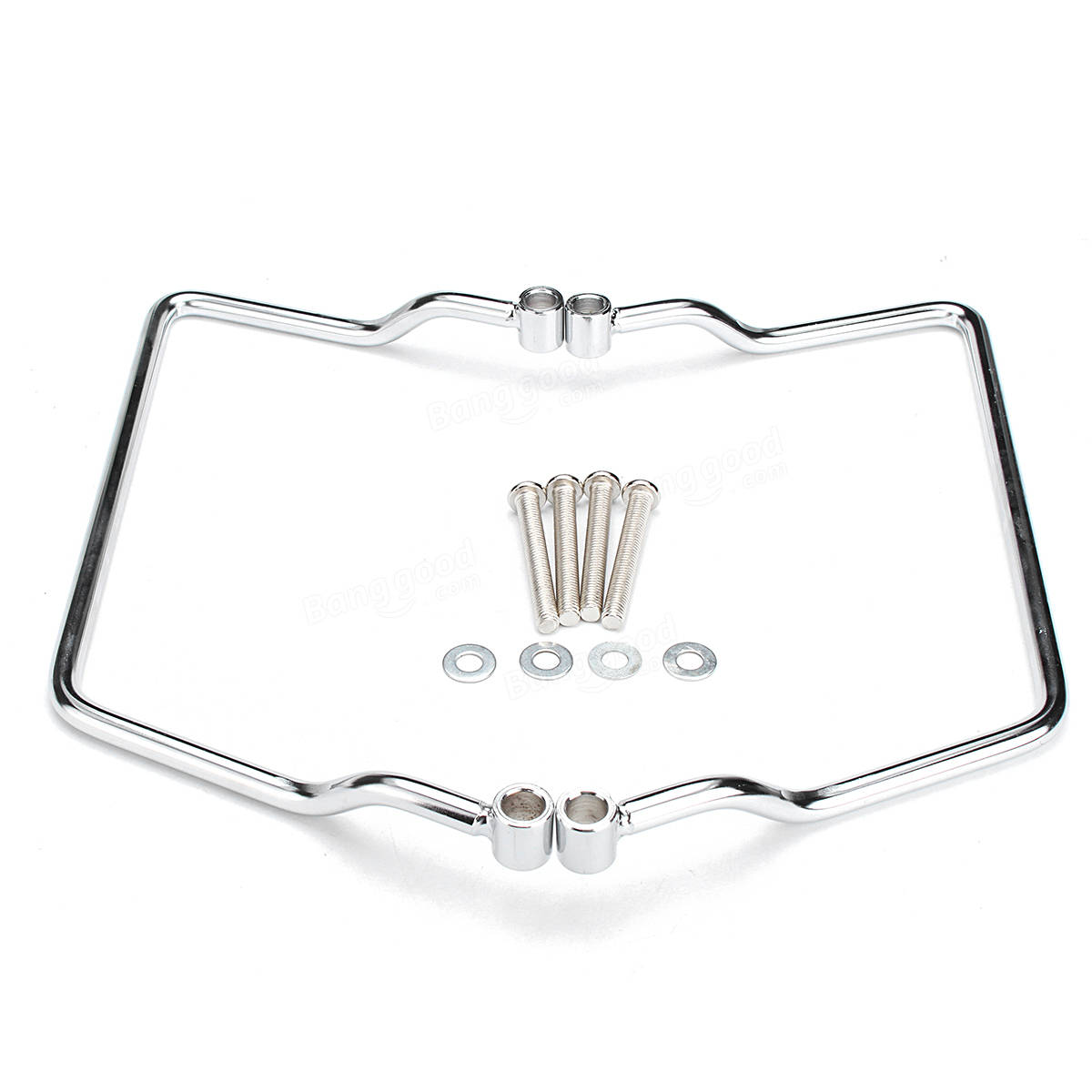 Saddle Bag ChromE Mount Bracket For Yamaha V-Star Dragstar