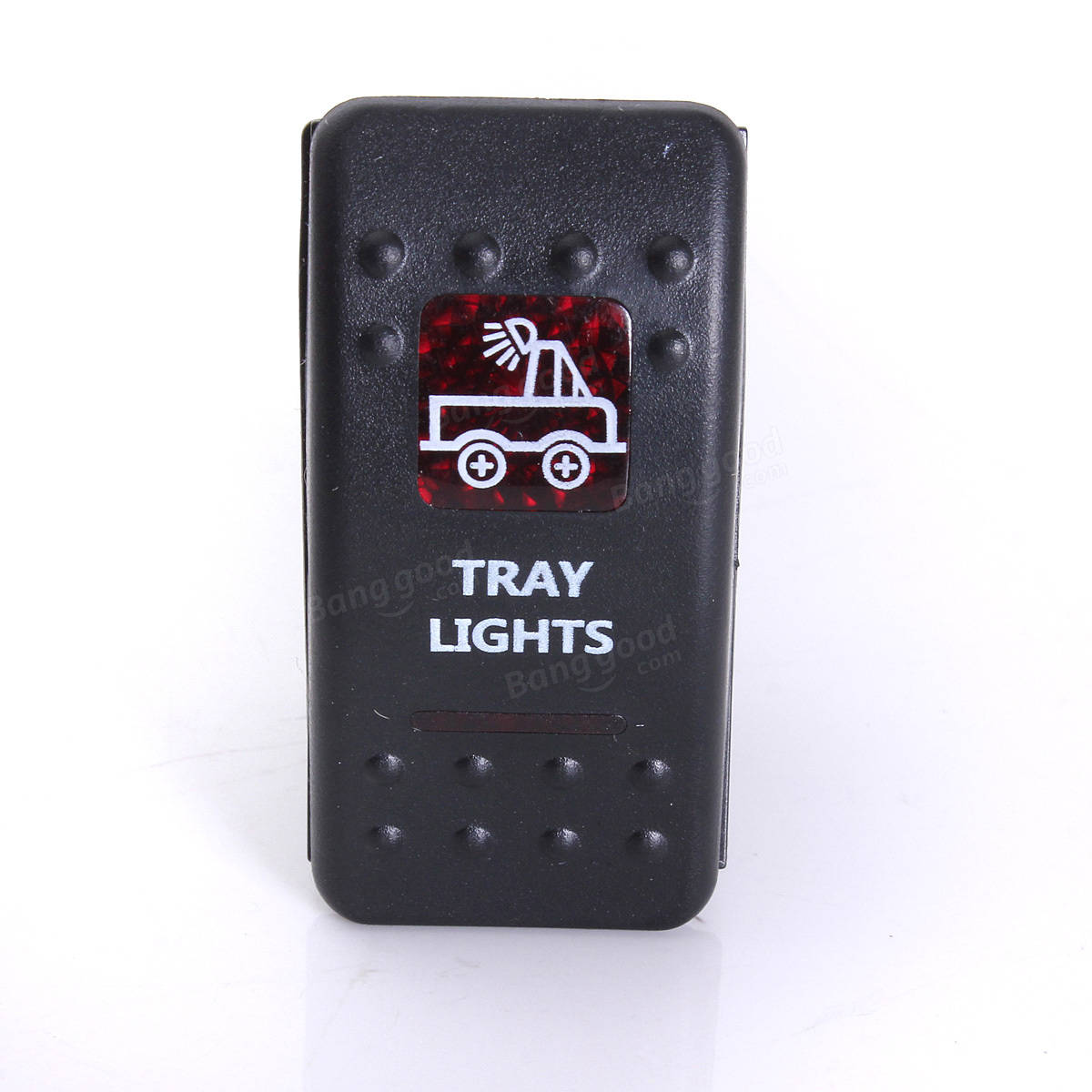 Light Rocker Switch Red 20 Arb Carling Type Narva Lightforce 12 Volt