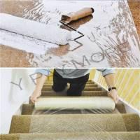 60cm x 25m DIY Decorating Carpet Floor Protector ...