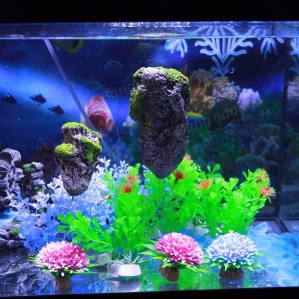 Yani Flying Stone Fish Tank Decoration Float Ornament