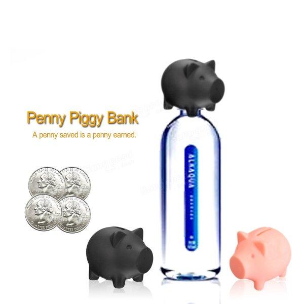 Plastic Piggy Banks Diy Bottle Caps Money Coins Collection