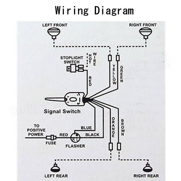 [DIAGRAM] Hot Rod Turn Signal Wiring Diagram FULL Version
