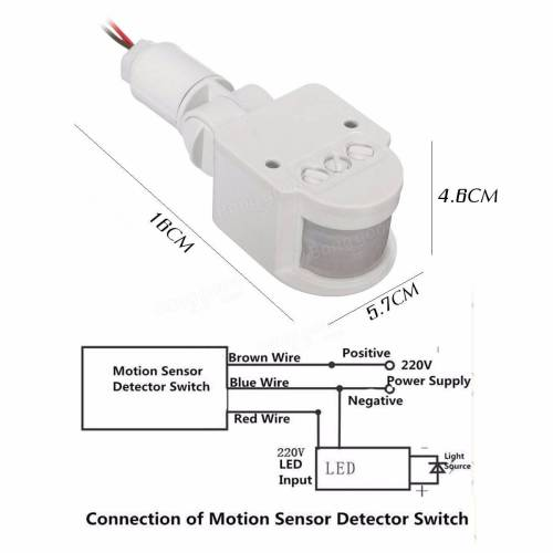 small resolution of pir security light wiring diagram wiring diagram for motion sensor