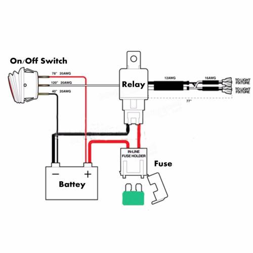 small resolution of 12v led off road light wiring diagram 12v led light