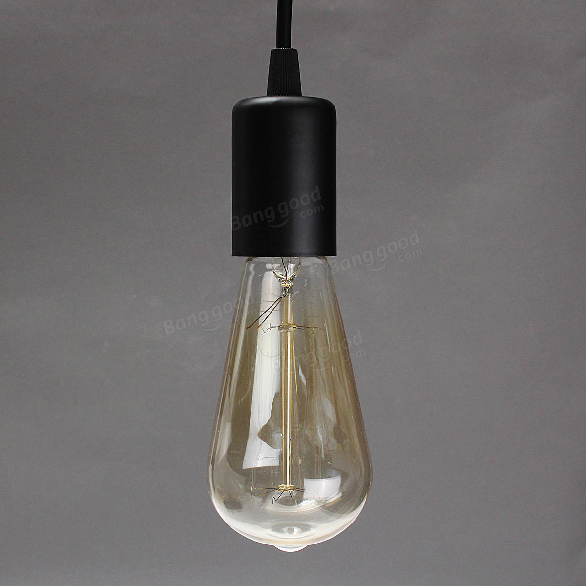 hanging light fixtures living room green and brown rugs e27 single head home ceiling pendant lamp bulb ...