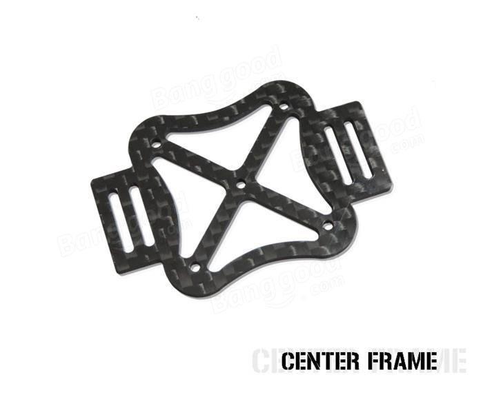 120mm Carbon Fiber DIY Micro Mini FPV Quadcopter Frame Kit